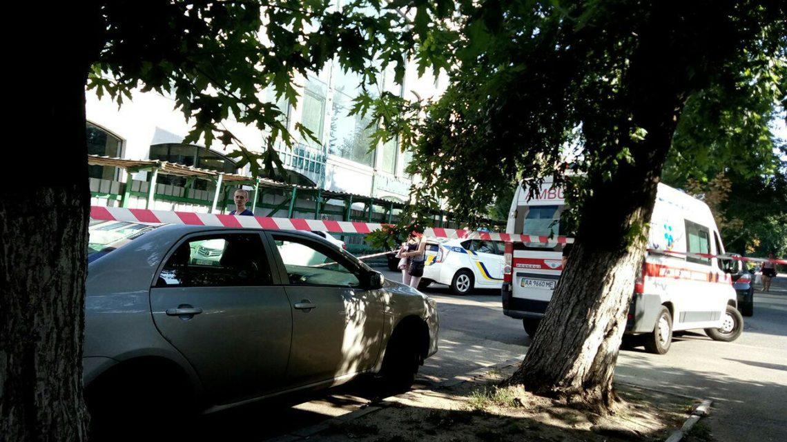 Стрельба вКиеве: пострадавший получил ранение вголову