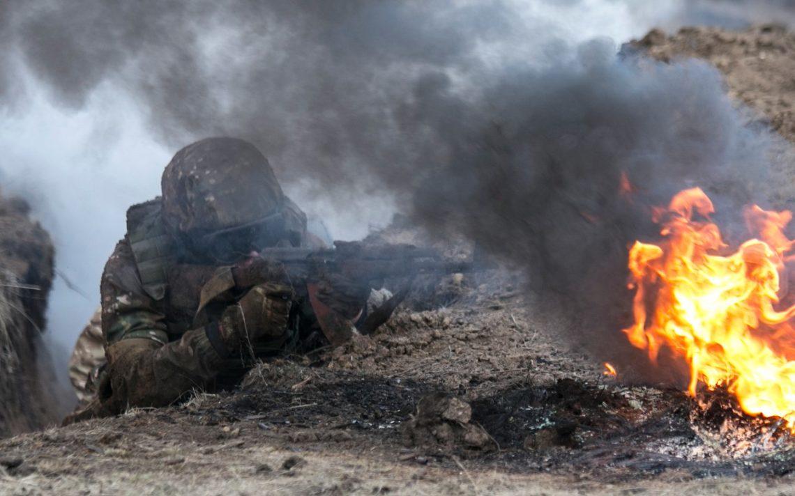 Налуганському напрямку поранено військового— АТО