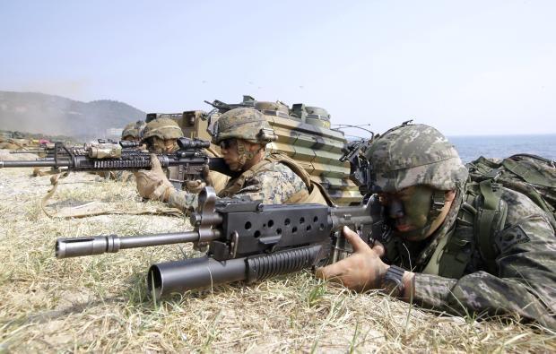 Южная Корея ссемью странами проведет масштабные военные учения