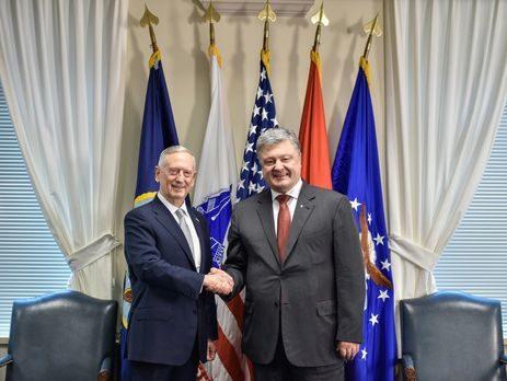 Меттис: США планируют подтвердить стратегическое партнерство с Украинским государством
