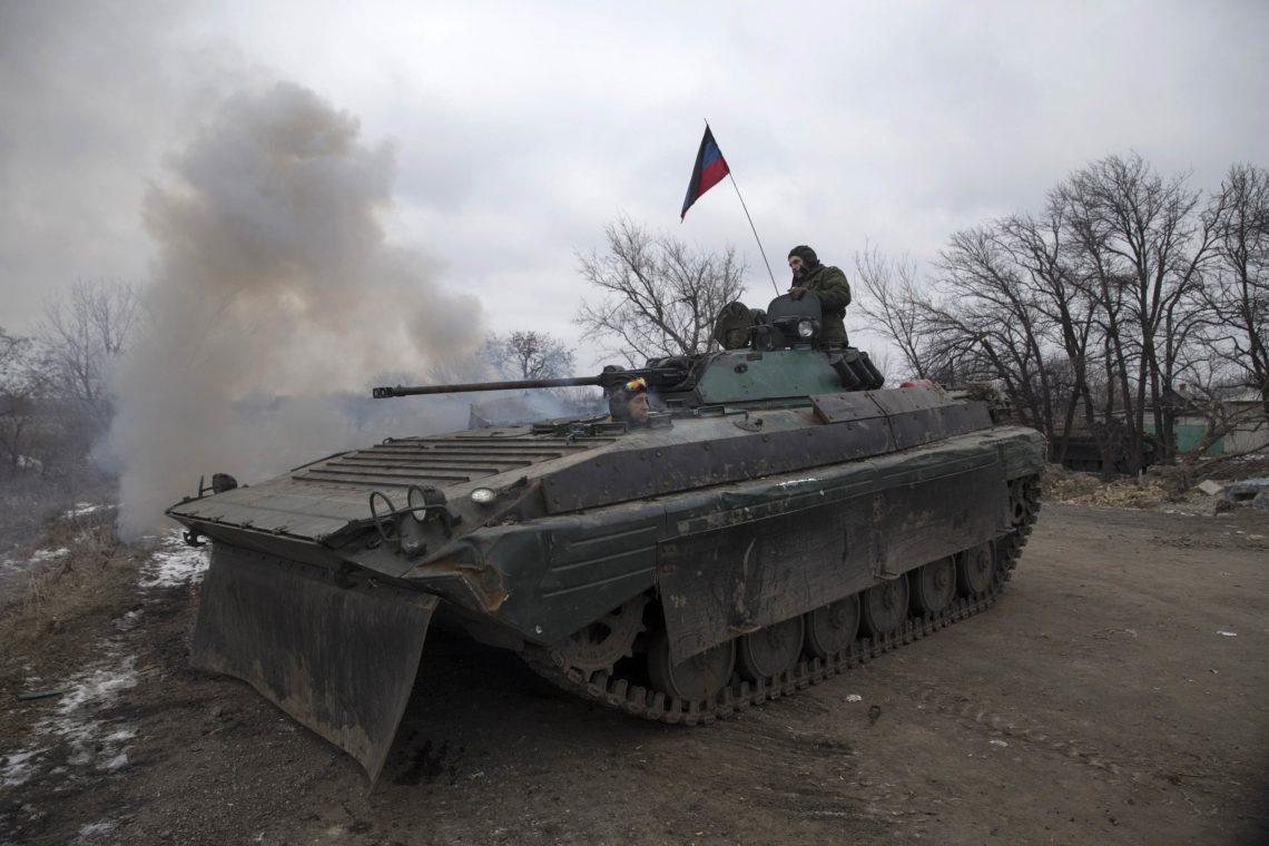 Наблюдатели ОБСЕ зафиксировали около Луганска танки боевиков