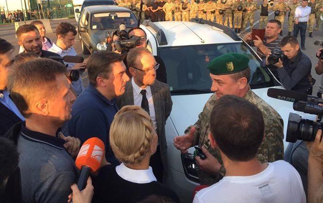 В воскресенье, 10 сентября, поступило сообщение о заминировании пункта пропуска Шегини, куда прибыл экс-губернатор Одесской области Михеил Саакашвили.