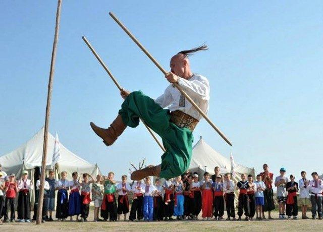 Гопак стал национальным видом спорта наУкраине