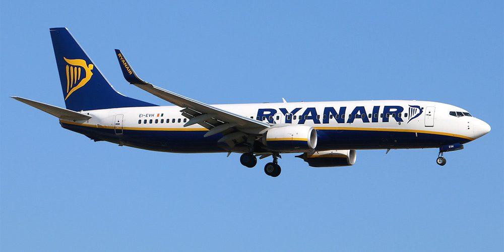Авиакомпания Ryanair отменила 2% рейсов ради отпусков служащих