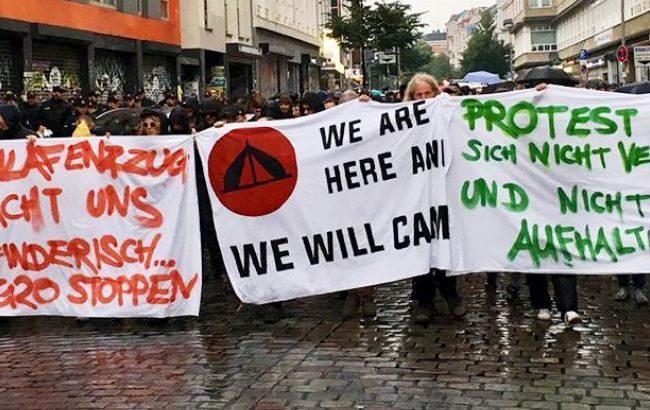 Страну охватили протесты— Выборы вГермании