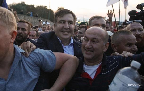 Прорыв Саакашвили: одного изучастников оставили под стражей