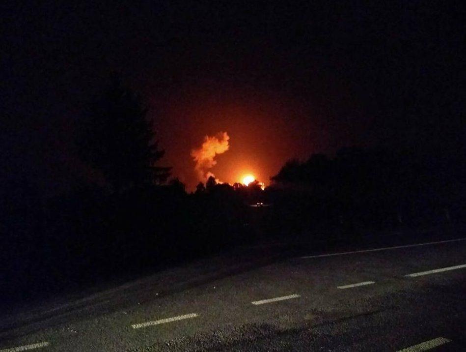 Под Винницей взрываются склады сбоеприпасами