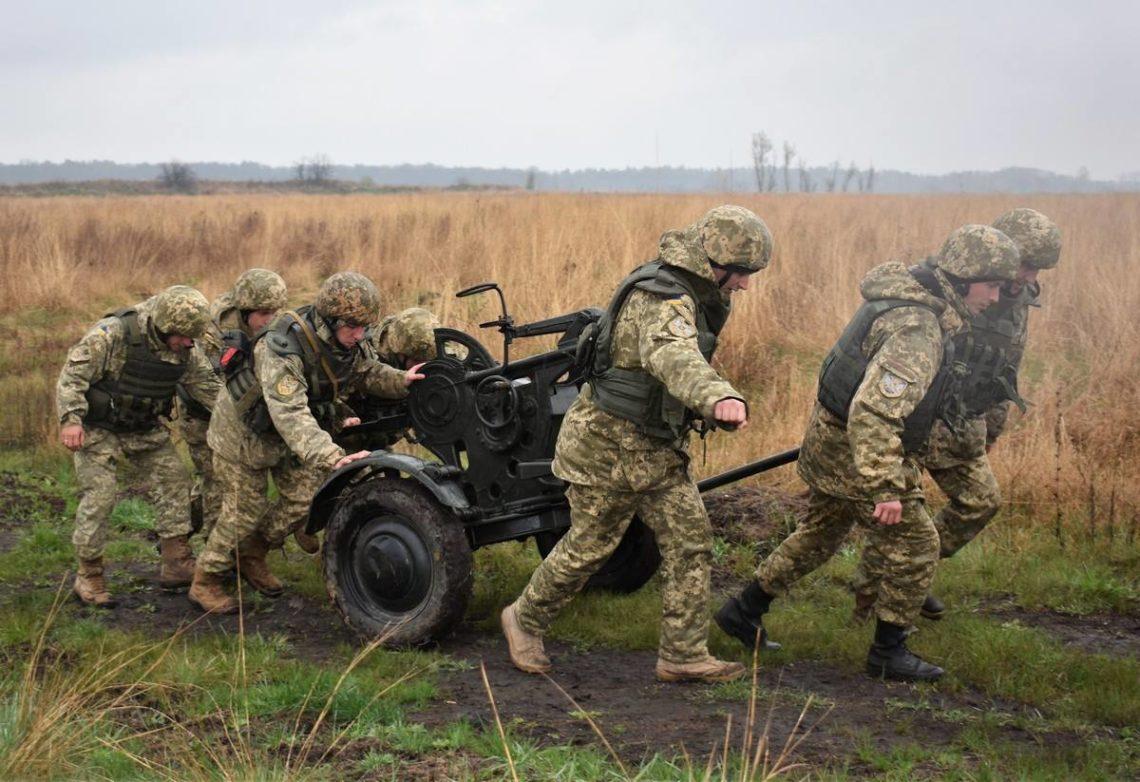 Боевики атаковали позиции ВСУ 20 раз, трое украинских военных ранено— Штаб АТО
