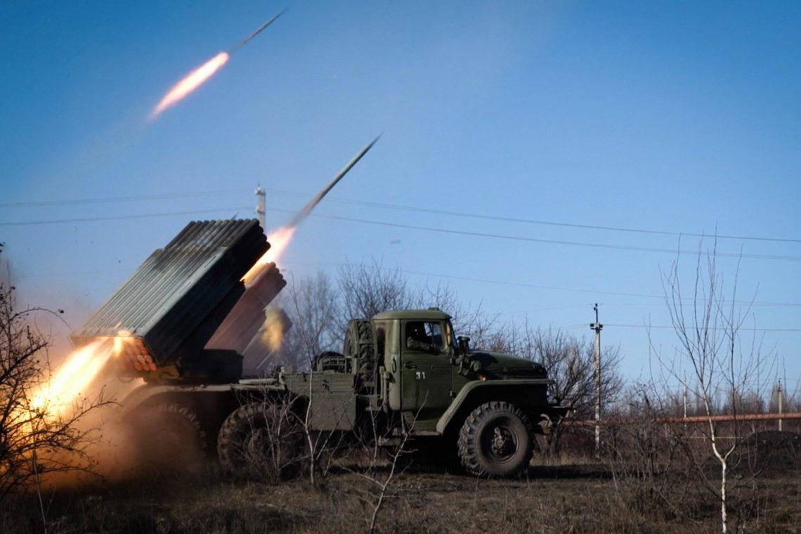 Позиции военных АТО обстреляли изГрадов: два солдата ранены
