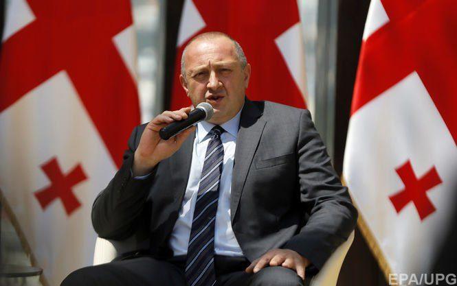 Президент Грузии призвал квыработке общей стратегии против Российской Федерации