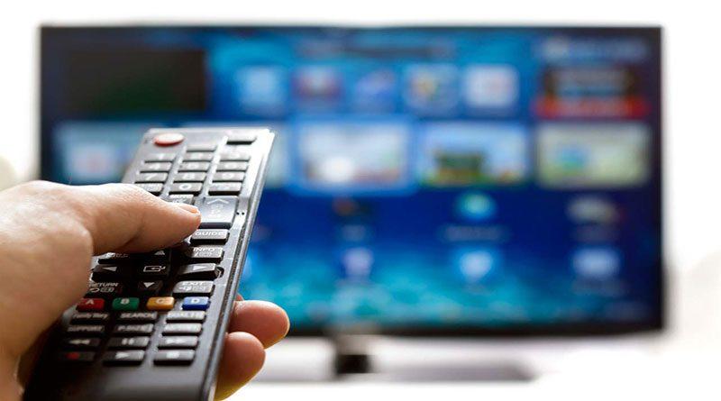 Украинское телевидение практически навсе 100% переходит наукраинский язык