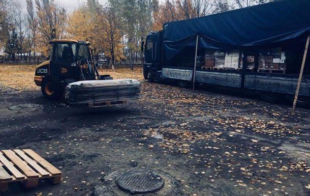Словакия направила наДонбасс гуманитарную помощь для медицинских учреждений