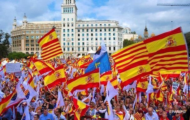 ЕСнебудет мешаться вурегулирование кризиса вКаталонии