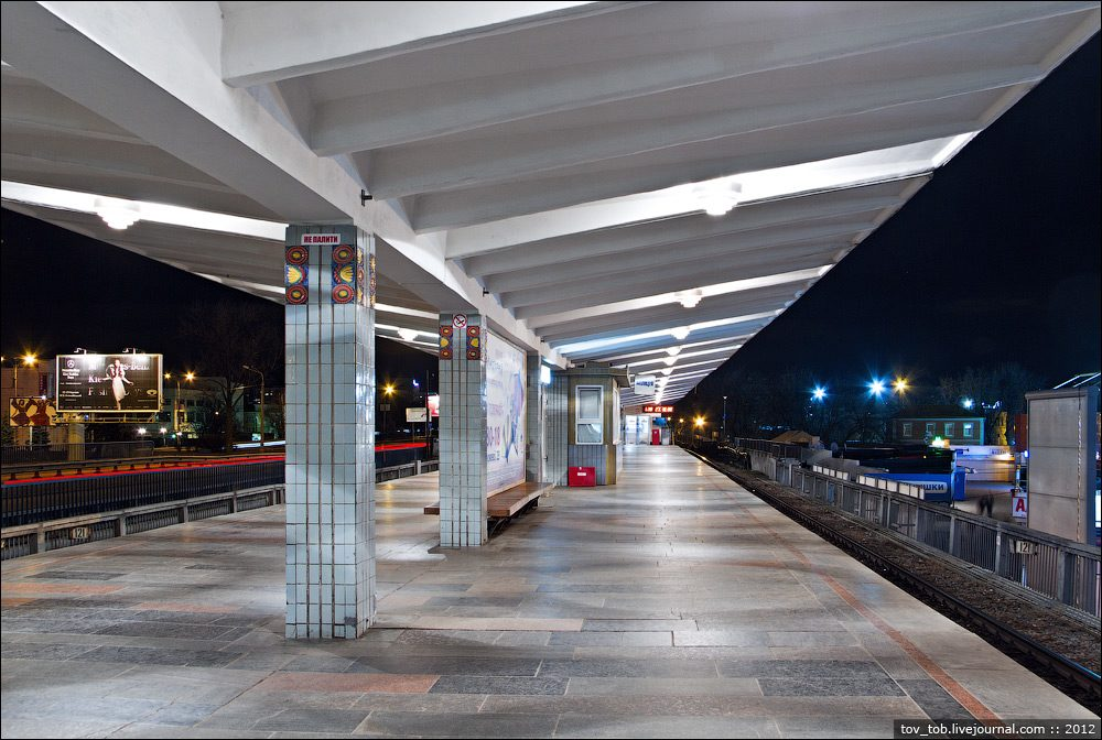 ВКиеве между станциями метро «Левобережная» и«Дарница» человек попал под поезд