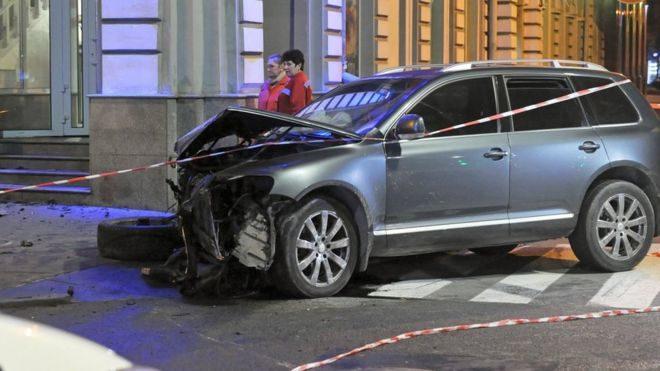 ДТП наСумской: водителя Volkswagen Touareg взяли под стражу