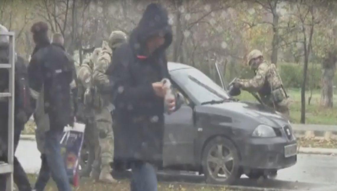 СБУ задержала вСеверодонецке 2-х диверсантов, готовивших теракт