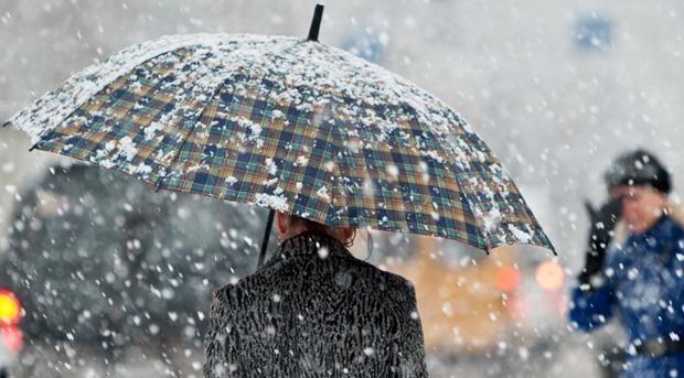 В Украине 12 ноября из-за резкого ухудшения погодных условий объявили штормовое предупреждение