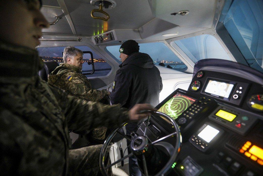 Порошенко поведал ороли морской пехоты вАТО наДонбассе