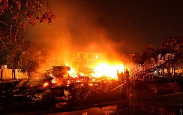 Пожар вдетском лагере вОдессе произошёл из-за кипятильника