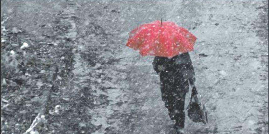 Ввоскресенье вПетербурге иЛенинградской области пойдет мокрый снег сдождем