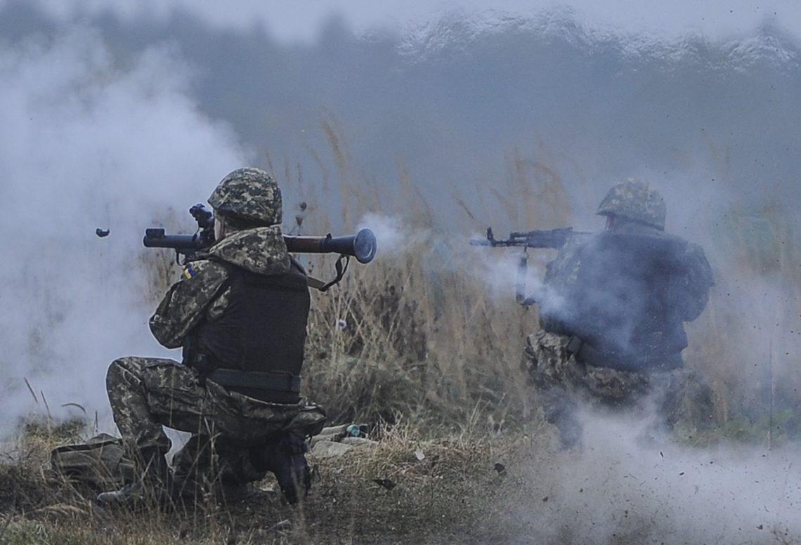 НаДонбассе боевики продолжают обстрелы. ВСУ открывают ответный огонь