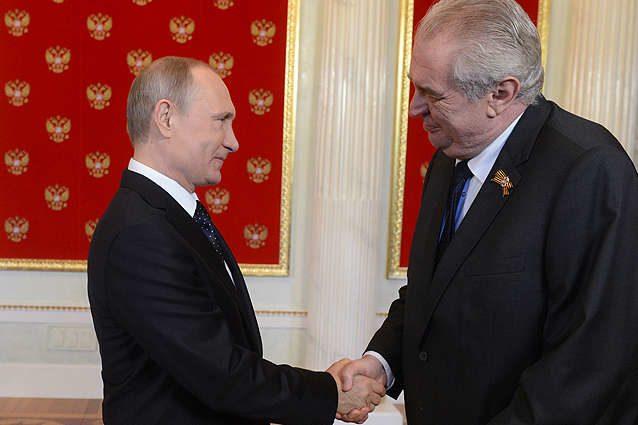 Президент Чехии встретятся сПутиным вСочи