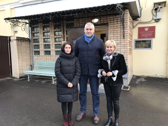Фейгин сказал, насколько лет хотят осудить Сущенко