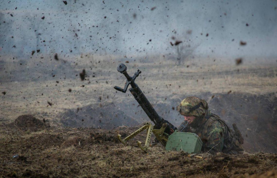 Штаб АТО: НаДонбассе ввоинской части погибли трое военных