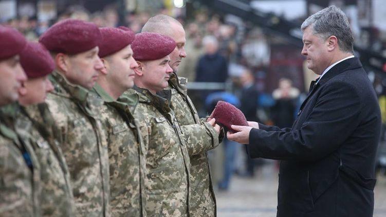 Украина впервый раз празднует День десантно-штурмовых войск