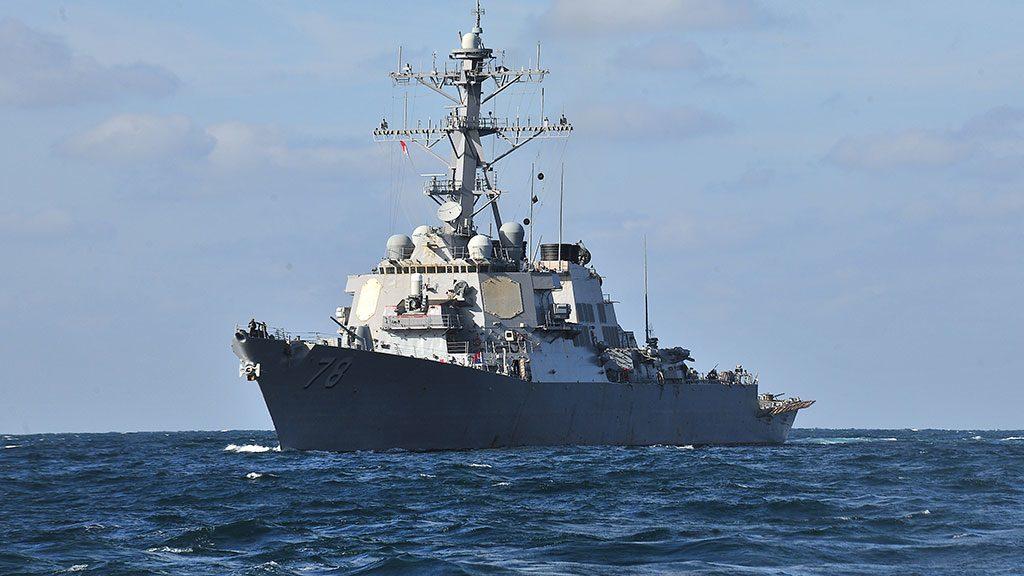 ВЧерное море вошел эсминец США сракетами «Томагавк»