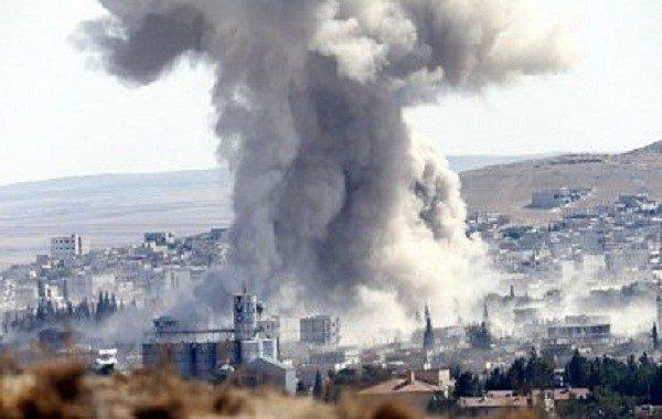 АвиацияРФ нанесла удар вСирии, необошлось без жертв среди мирного населения