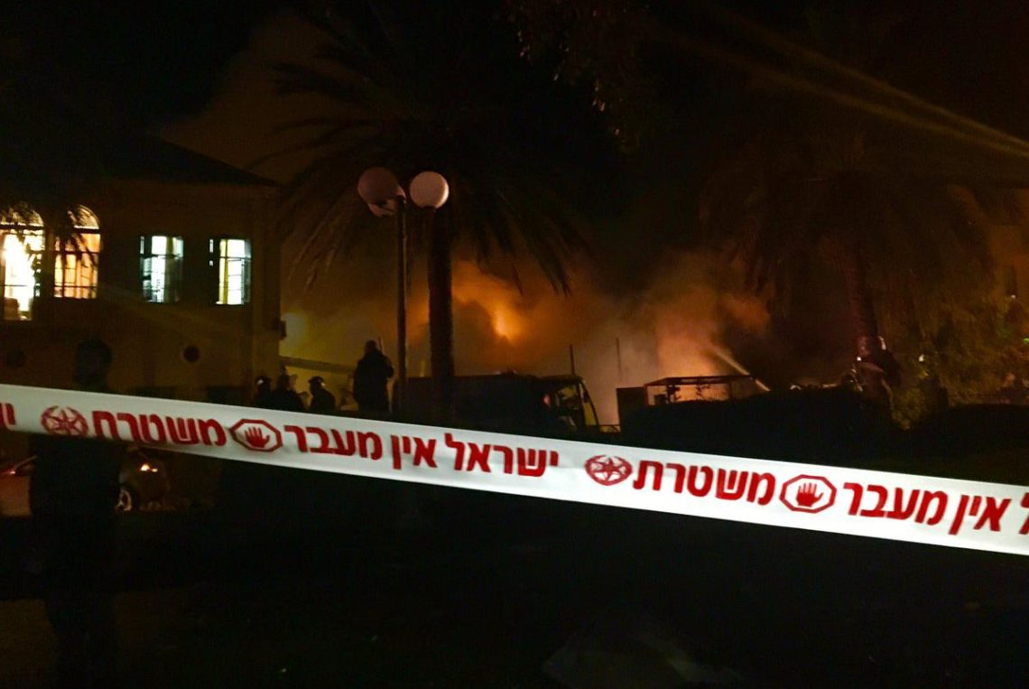 Вмагазине Тель-Авива произошел взрыв, есть пострадавшие