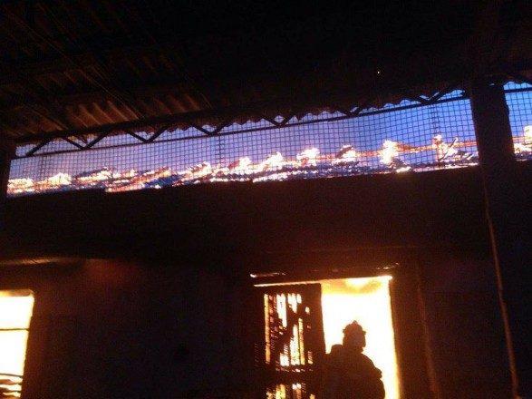 ВНиколаеве потушили большой пожар наМельничной