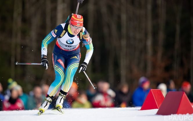 Украинская биатлонистка Юлия Джима завоевала бронзовую медаль в спринтерской гонке на первом этапе Кубка мира в шведском Эстерсунде