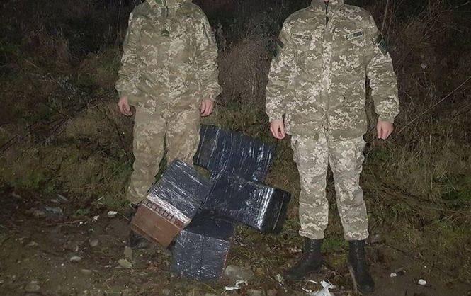 НаЗакарпатье задержали крупную партию контрабандных сигарет