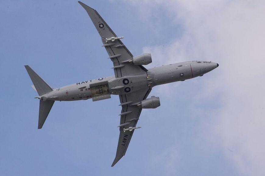 Американский разведывательный самолет пролетел вблизи оккупированного Крыма