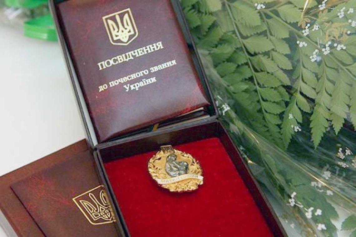 Неменее  20 женщин изЗапорожской области получили звание «Мать-героиня»
