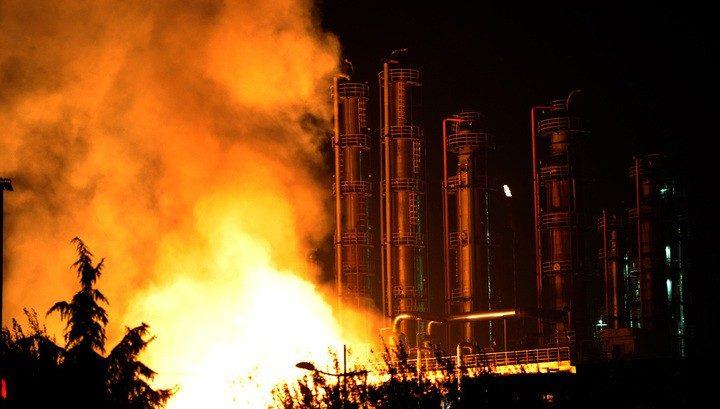 Взрыв накитайском химпредприятии: есть жертвы