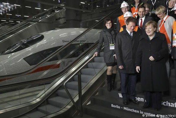 ВГермании запустили новый скоростной поезд