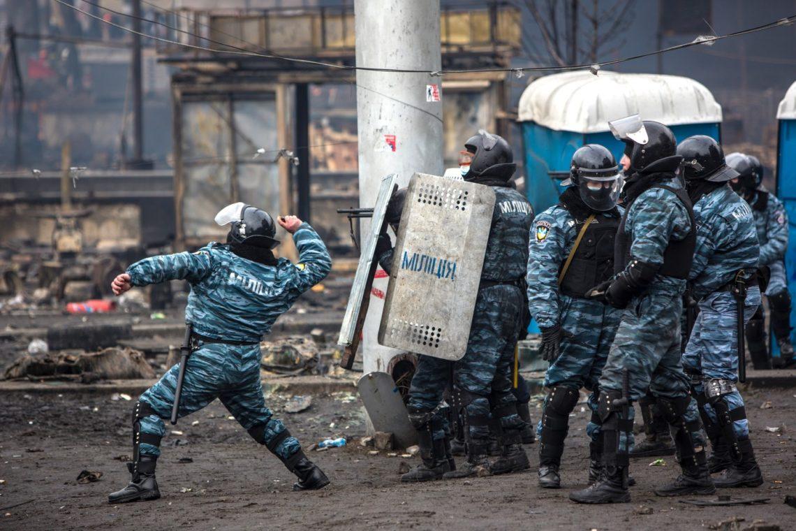 Экс-начальник Беркута получил российское гражданство— Расстрелы наМайдане