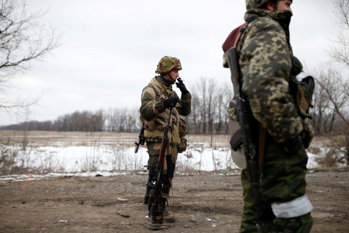 Украина обвинила ДНР всрыве перехода русских офицеров через линию разграничения