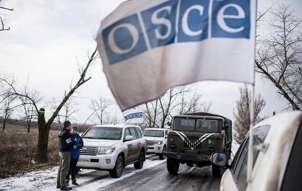 Миссия ОБСЕ сообщила обуменьшении обстрелов наДонбассе