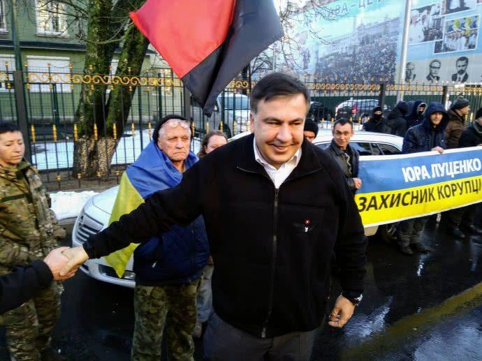 Саакашвили придет надопрос вСБУ 26декабря