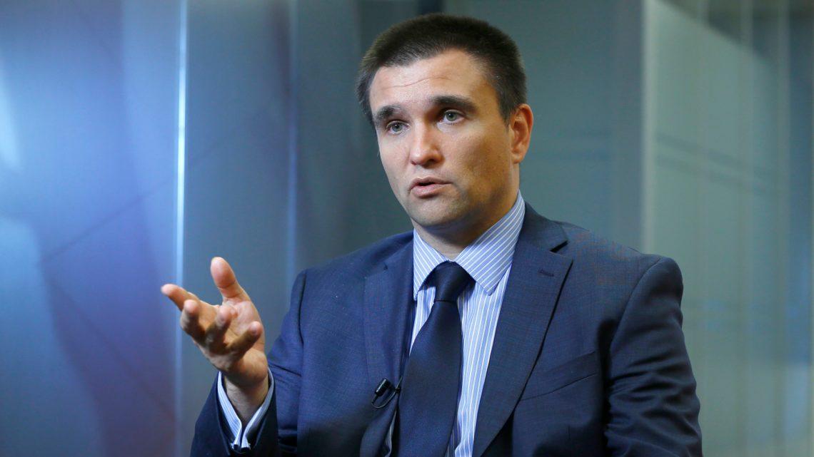 Клімкін обговорив зГабріелем ситуацію наДонбасі