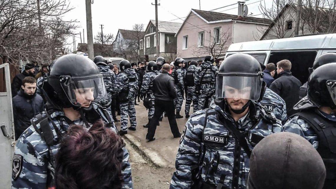 Стало известно, что изъяли укрымских татар вСимферополе