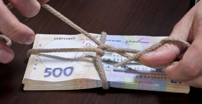 За прошедший год работникам Госпогранслужбы больше тысячи раз предлагали взятки на общую сумму более чем 1 млн гривен