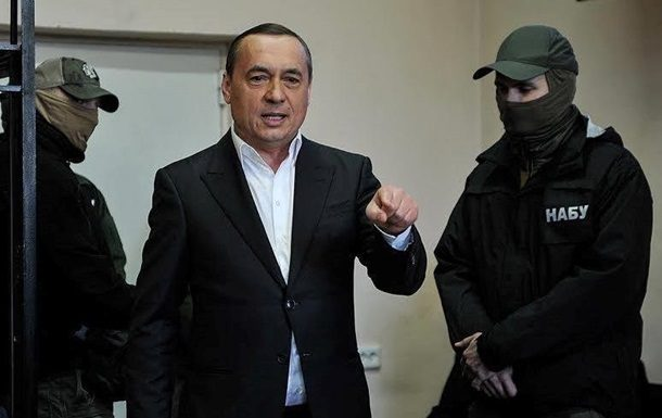 ВНАБУ сказали озавершении расследования по«делу Мартыненко»