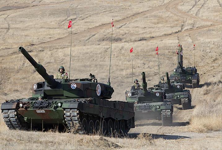 Эрдоган пообещал убить создаваемые США отряды насирийской границе