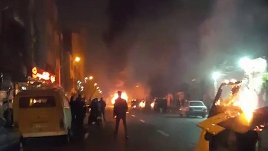 Впроцессе акций протеста вИране погибли 25 человек