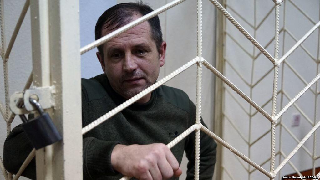 Оккупанты вКрыму приговорили украинского активиста Балуха к4 годам колонии
